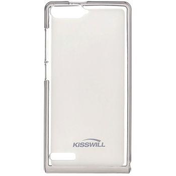 Kisswill TPU pouzdro pro Huawei Ascend Y6, transparentní