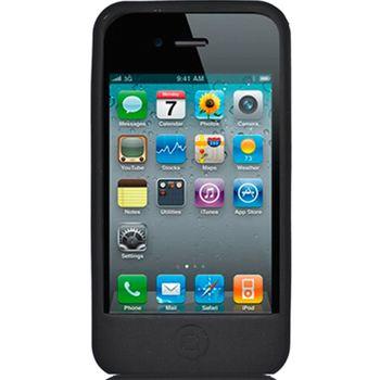 Silikonové pouzdro ST - Apple iPhone 4 - černé