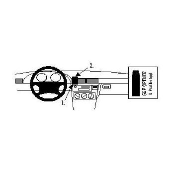 Brodit ProClip montážní konzole pro BMW Compact 94-00 For Europe, na střed