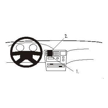 Brodit ProClip montážní konzole pro Toyota Corolla 93-97 For Europe, na střed