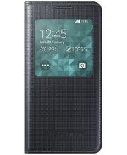 Samsung flipové pouzdro S-view EF-CG850BB pro Galaxy Alpha, černá