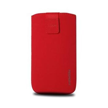 Fixed pouzdro Velvet, velikost L, červená