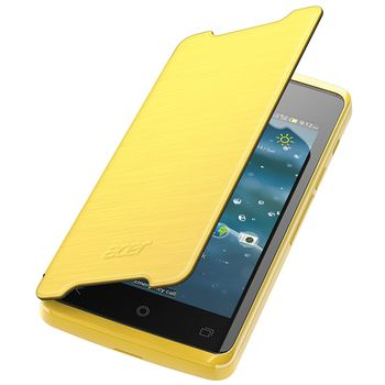 Acer flipové pouzdro pro Liquid Z200, žlutá