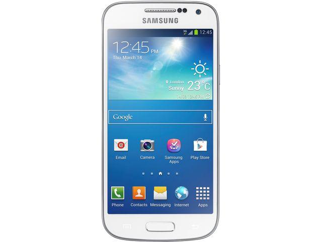 obsah balení Samsung GALAXY S4 mini i9195, bílá + Powerbanka 5600mAh