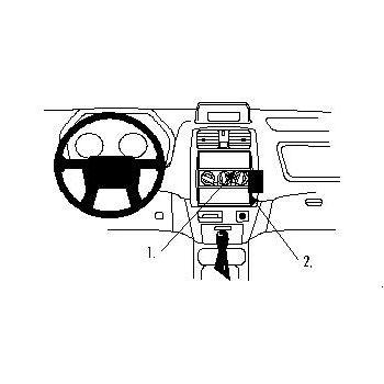 Brodit ProClip montážní konzole pro Mitsubishi Space Star 99-02, na střed