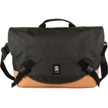 """Crumpler Private Surprise L nylonová taška 15.4"""" - černá/oranžová"""
