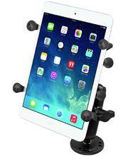 """RAM Mounts univerzální držák na tablet 7"""" až 8"""" do auta na palubní desku, skútr, atd. na šroubky nebo vruty, AMPS, X-Grip, sestava RAM-B-138-UN8U"""