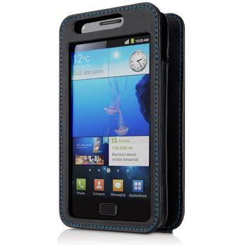 Belkin kožené pouzdro pro Samsung Galaxy S2, černé (F8M130ebC00)