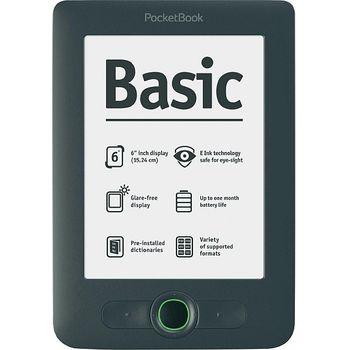 """PocketBook Basic NEW 613, čtečka elektronických knih, 6"""" E-ink displej, Dark Grey"""