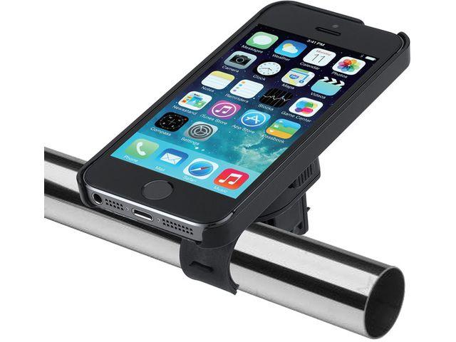 obsah balení Držák BikeConsole LITE pro iPhone 5/5s na kolo nebo motorku na řídítka pro uchycení telefonu