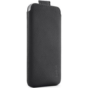 Belkin zasouvací pouzdro Pocket Case pro Apple iPhone 5, černá (F8W123vfC00)