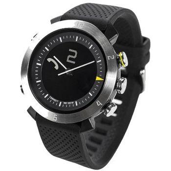 COGITOwatch 2.0 Classic Silver Arrow bluetooth hodinky, černostříbrné