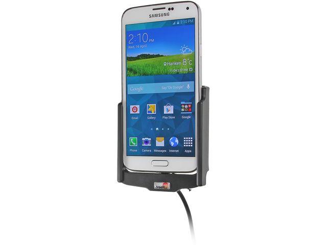 obsah balení Brodit držák do auta s nabíjením CL + PanzerGlass sklo pro Samsung Galaxy S5 G900