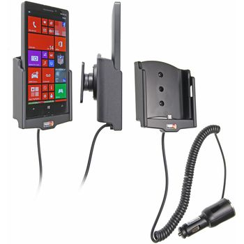 Brodit držák do auta na Nokia Lumia 930 bez pouzdra, s nabíjením z cig. zapalovače
