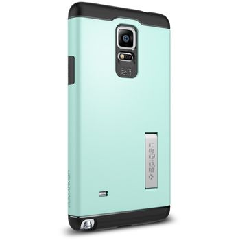 Spigen pevné pouzdro Slim Armor pro Samsung Galaxy Note 4, zelená
