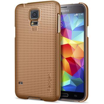 Spigen tenký kryt Ultra Fit Copper gold pro Samsung Galaxy S5, zlatá