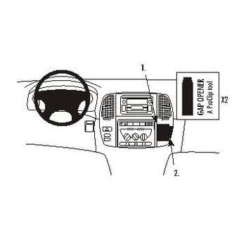 Brodit ProClip montážní konzole pro Toyota LandCruiser 100 02-07