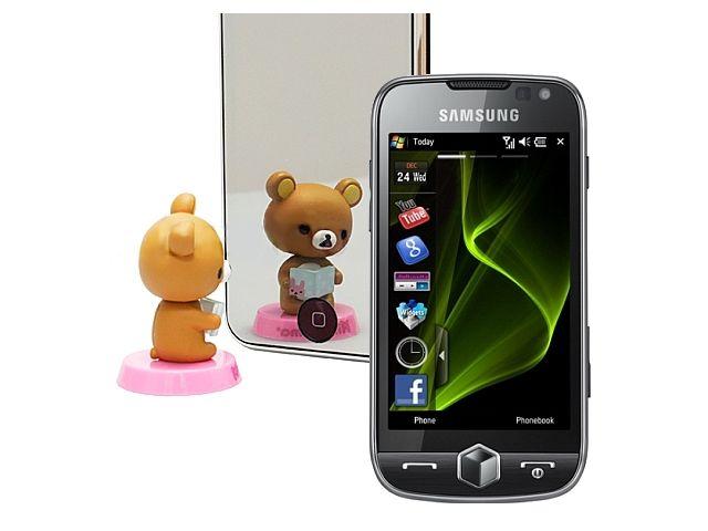 obsah balení 2 kusy fólie Brando zrcadlová - Samsung i8000 Omnia II