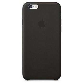 Apple kožený kryt pro iPhone 6/6S, černá