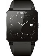 Sony SmartWatch SW2, silikonový řemínek, černá