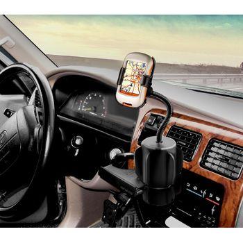 RAM Mounts držák na Garmin Dakota do auta do držáku na nápoje, husí krk, sestava RAP-299-2-GA36U