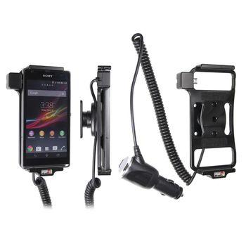 Brodit držák do auta na Sony Xperia SP bez pouzdra, s nabíjením z cig. zapalovače