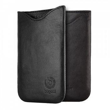 Bugatti SlimFit leather case pro Motorola Nexus 6, černá