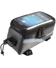 Roswheel brašna na mobilní telefon na rám, vel.L modrý pruh