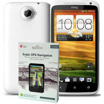 HTC One X bílá + navigace Sygic Evropa ZDARMA