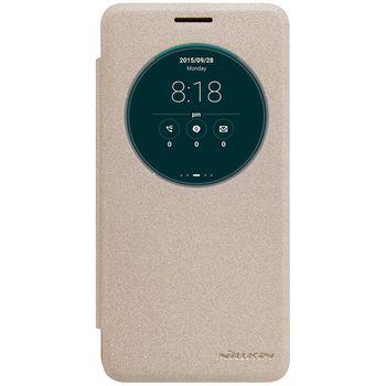 Nillkin flipové pouzdro Sparkle S-View pro ASUS Zenfone GO ZC500TG, zlaté