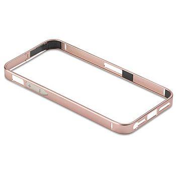 PanzerGlass ochranný hliníkový rámeček pro Apple iPhone 4/4s, růžový